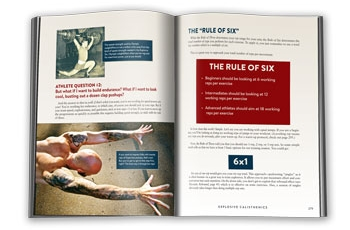 Explosive Calisthenics Rule of Six