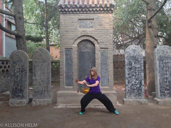 Allison Helm Taiji practice