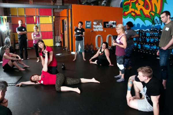 Andrea Du Cane Instructing With Shari