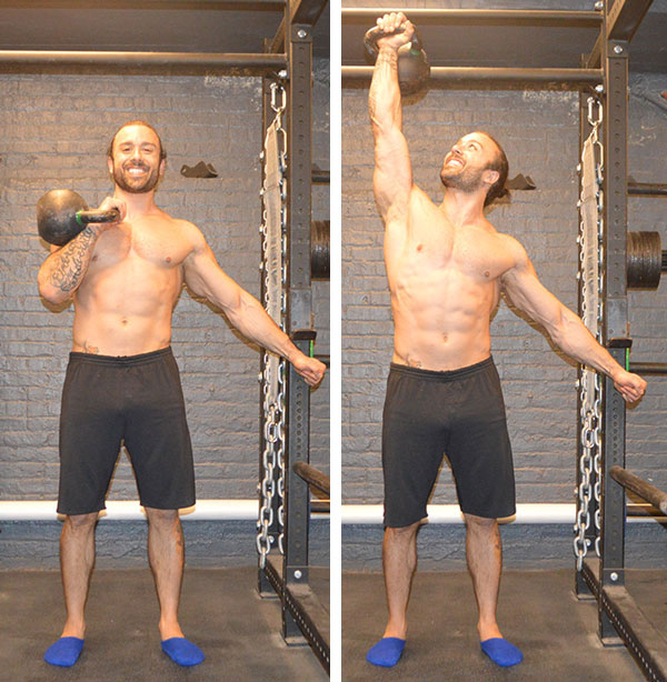 Angelo Grinceri RKC Kettlebell Press