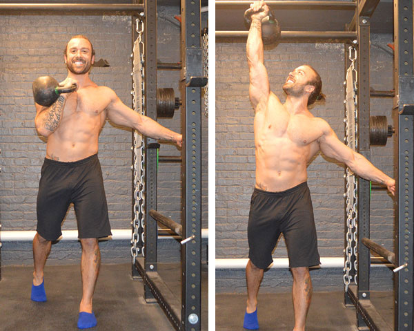 Angelo Grinceri IST forward step press