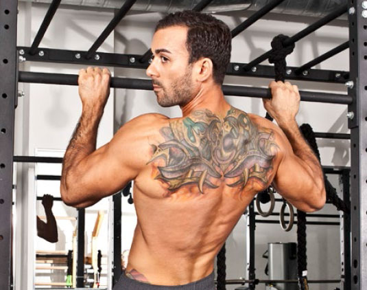 Angelo Intrinsic Strength Training IST Pull Up