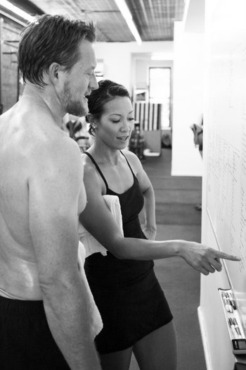 Annie Vo Coaching at Precision Athlete