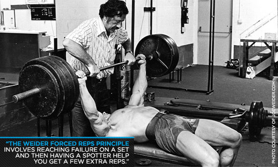 Arnold Forced Reps