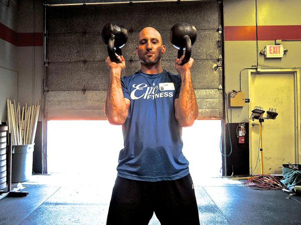 Ben Fogel RKC Double BUP Press
