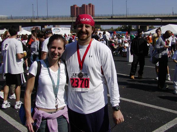 Brad Sadler Baltimore Marathon