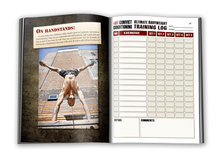 convict conditioning ultimate bodyweight training log dragon door