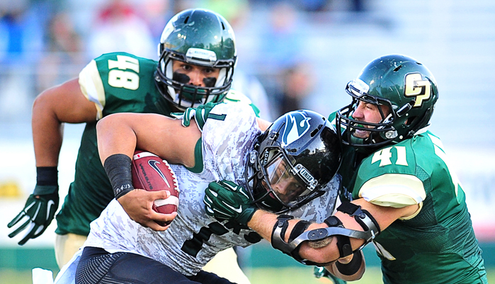 Cal Poly Football Game Dzubnar #41