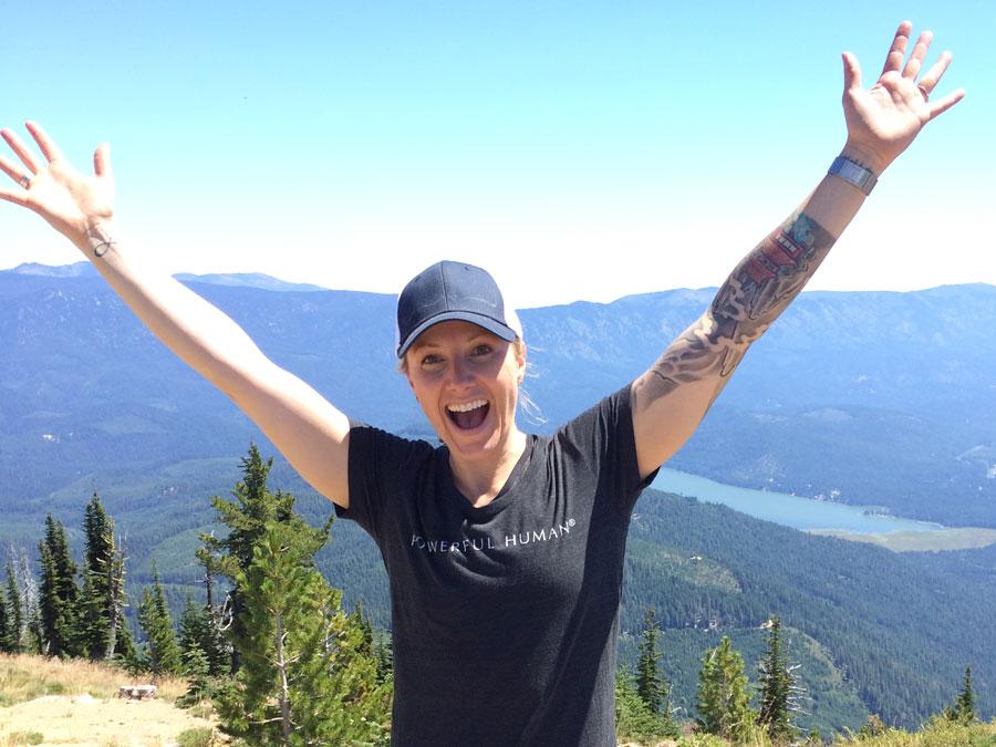 Cami Pipkin Hiking