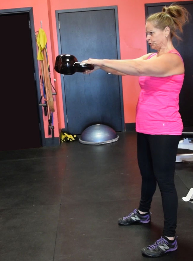 Charlotte Double Kettlebell Swings