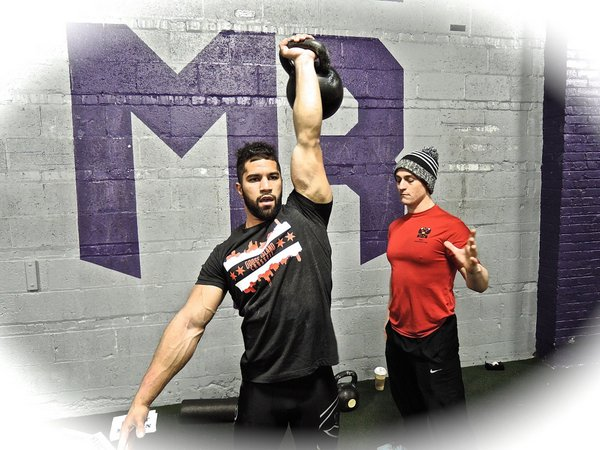 Chawkeen and Kettlebell