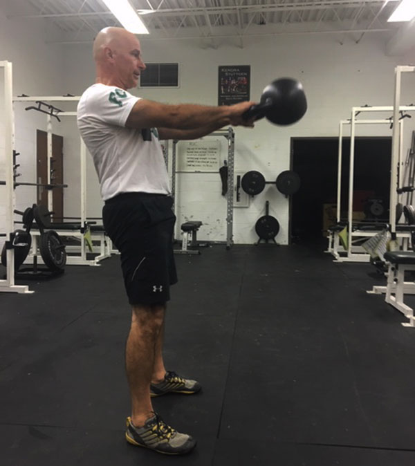Chris Mackey Kettlebell Swing