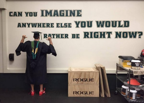Chris White Graduation