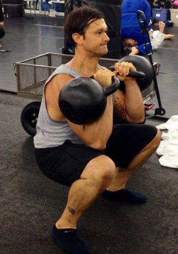 RKC Instructor Christian Arai Double Kettlebell Front Squat