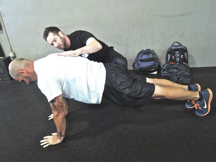 Coaching the plank