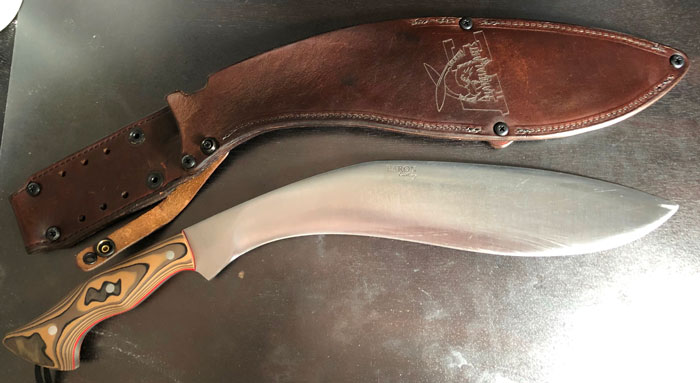 Custom Kukri Phil Ross