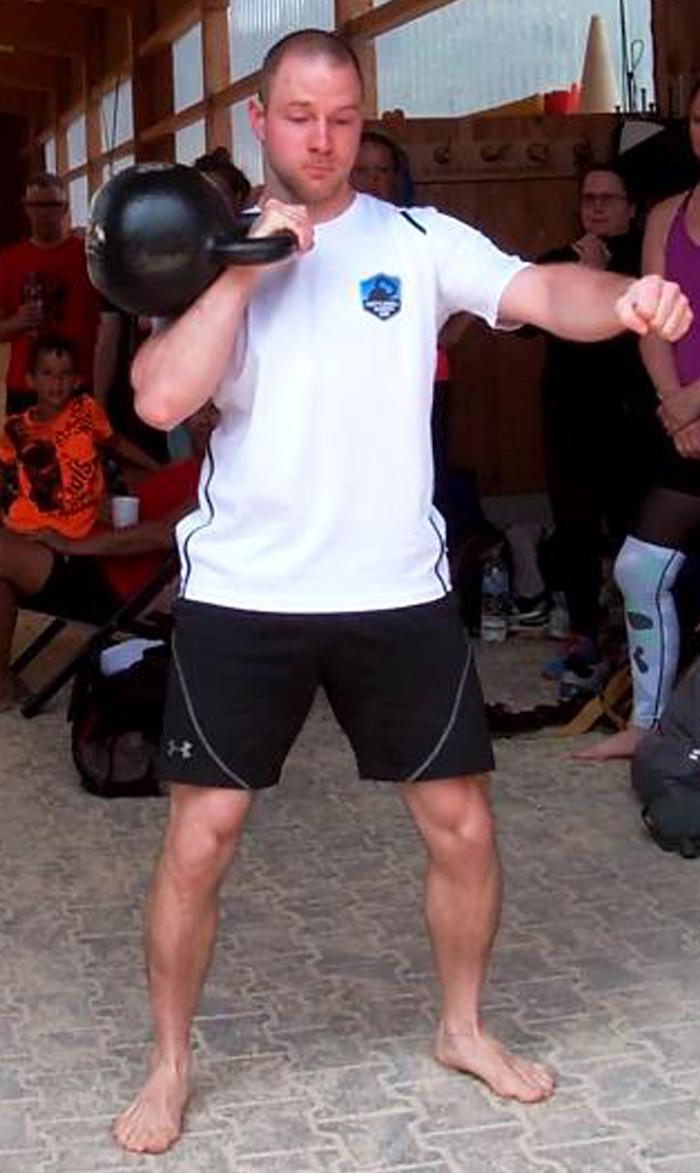 Daniel Kirchmaier Beast Tamer Challenge Kettlebell Clean