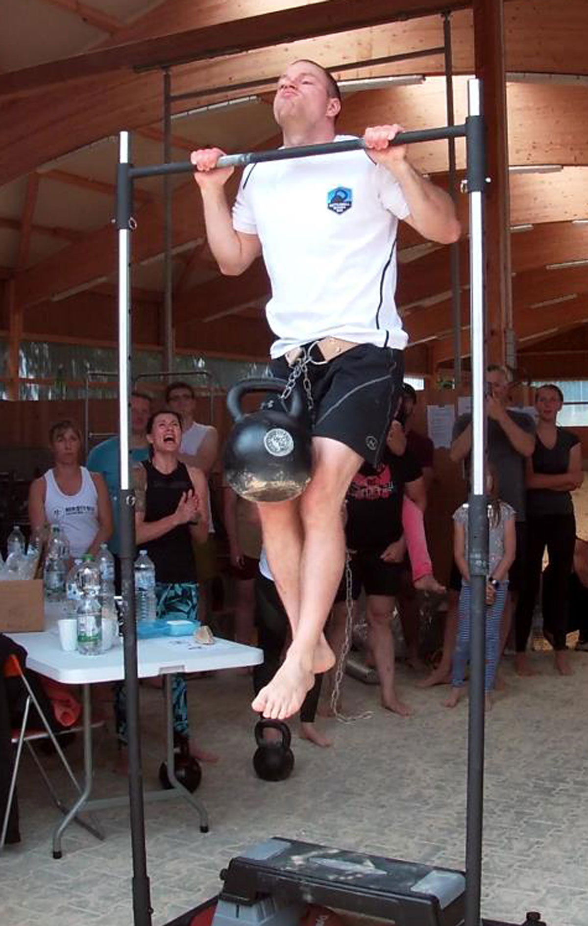 Daniel Kirchmaier, RKC-II Beast Tamer Challenge Pull-up with 48kg kettlebell