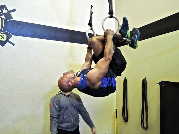 David Rodriguez Gymnastic Rings
