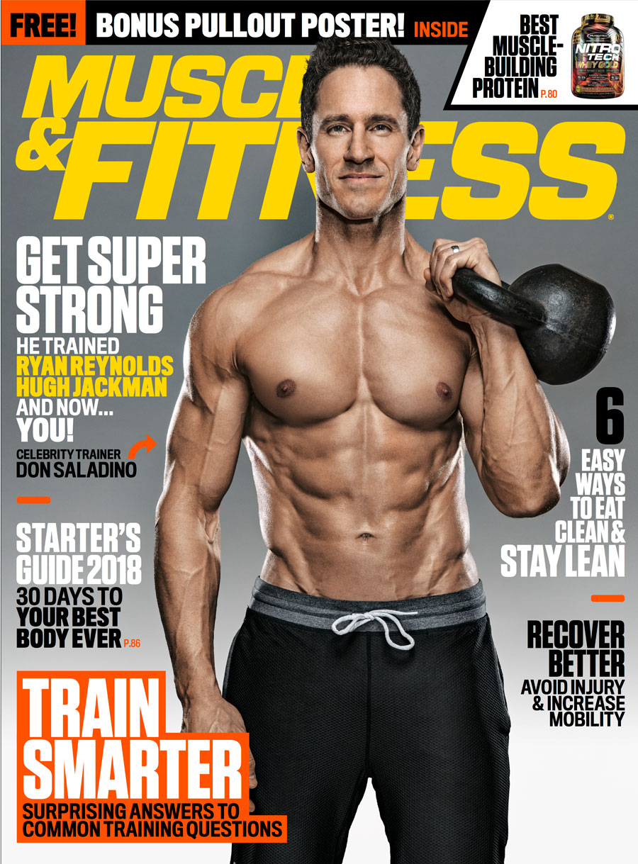 Don Saladino Muscle And Fitness Magazine Cover