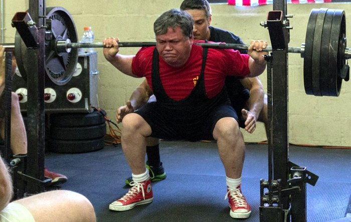 Don Berry Barbell Squat