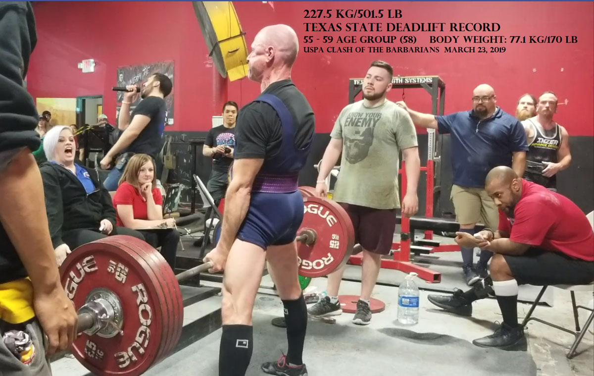 Dr Steve Horwitz Deadlift 501 Record