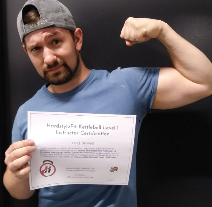 Eric Bennett Certified HardstyleFit Instructor