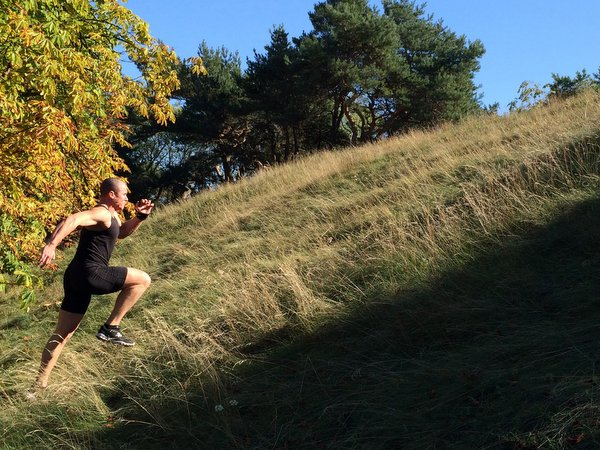 Filip Dryla RKC-II Hill Sprints