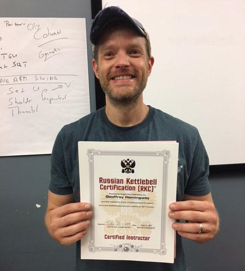 Geoffrey Hemingway RKC Certified