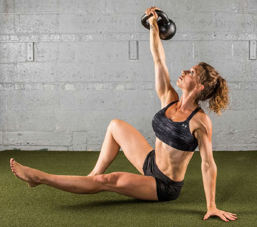 The Hardstyle Kettlebell Challenge Special Get-up Drill