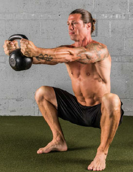 The Hardstyle Kettlebell Challenge Goblet Squat Heartbeat