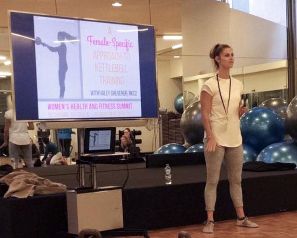 Haley Shevener Presenting