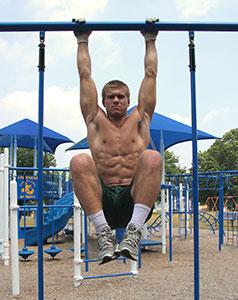 Hanging Knee Raise Bodyweight