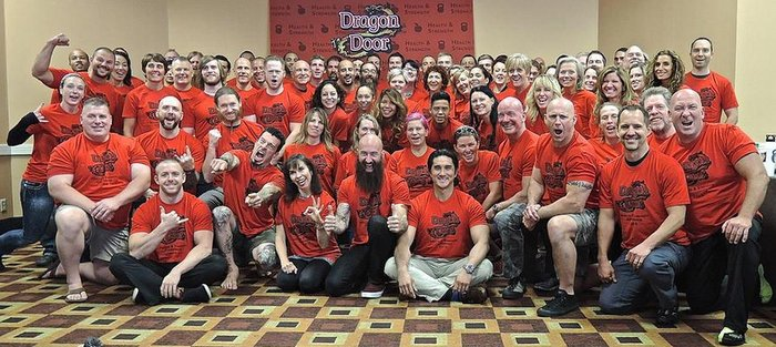 2015 Dragon Door Health and Strength Conference Group Photo