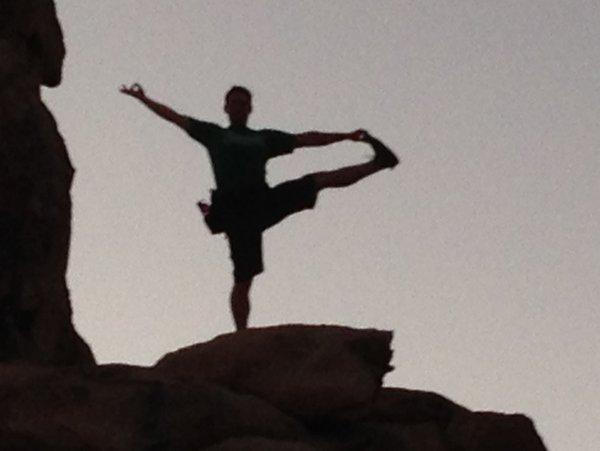 Isaac Hoffman Yoga Hike