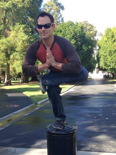 Isaac Hoffman Yoga Squat