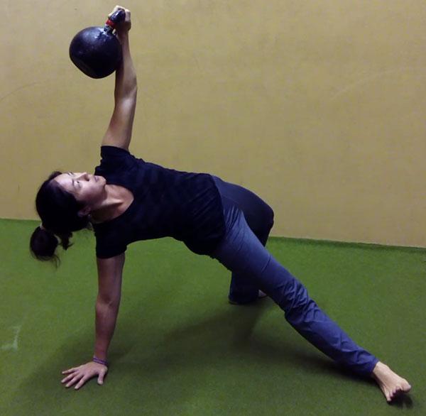 Jackie Wu Kettlebell Get-Up