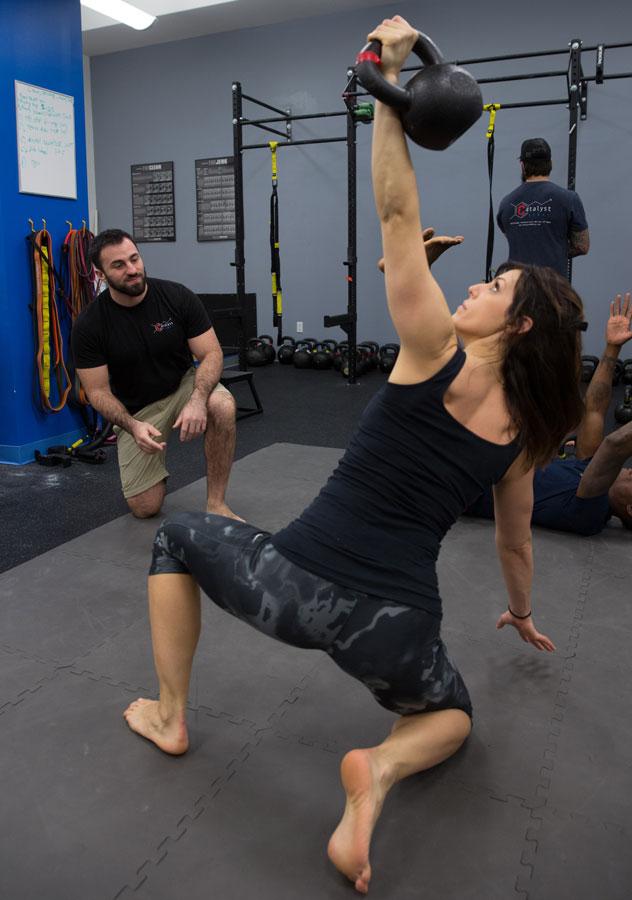 Jason Coaching Lisa Get-Up