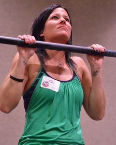 Jen Kalmes Pull-Up at the PCC Workshop