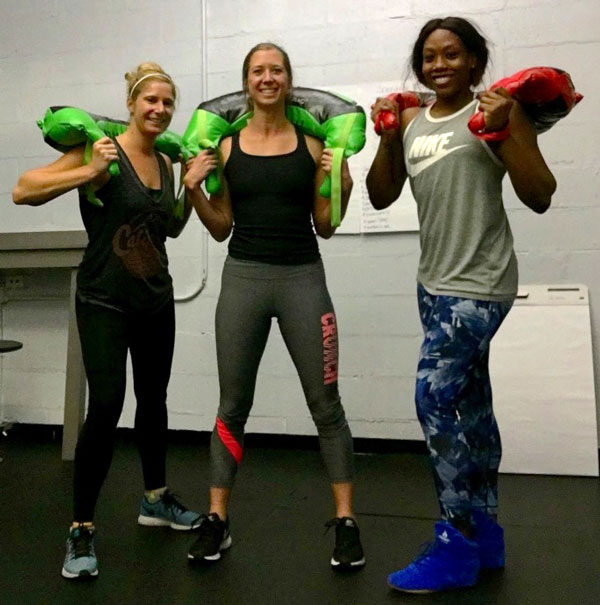 Jenn Burke and Friends with Bulgarian Bags