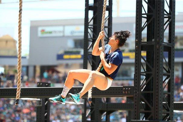 Jessa Lemoine Rope Climb CrossFit Games