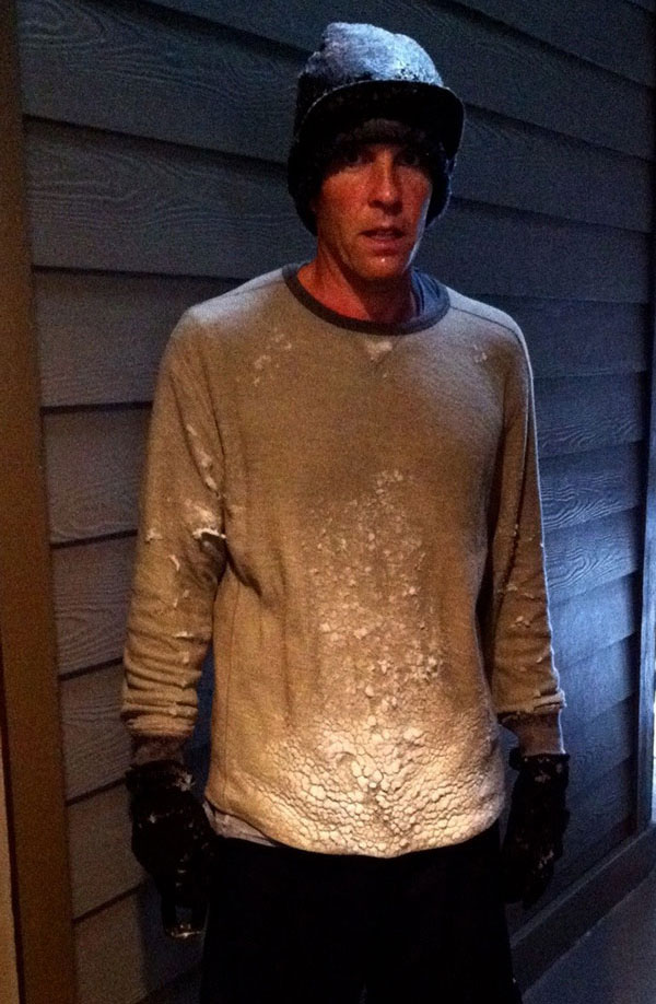 Jesse Itzler After Running in a Blizzard