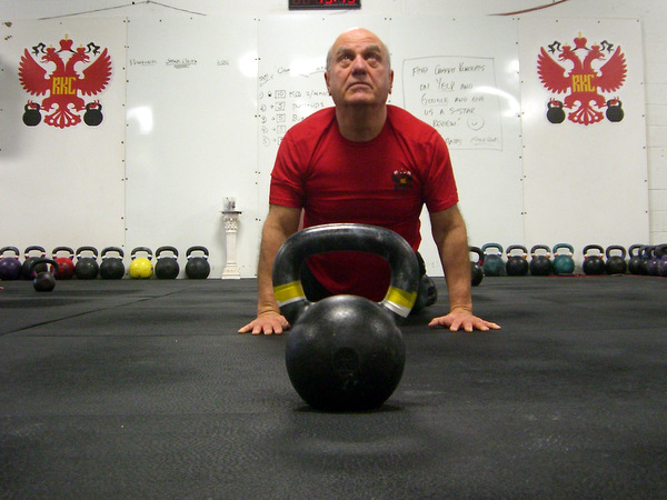 John Kalil Stretch With Kettlebell