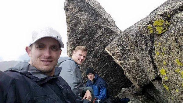 Joshua Buchbinder hiking
