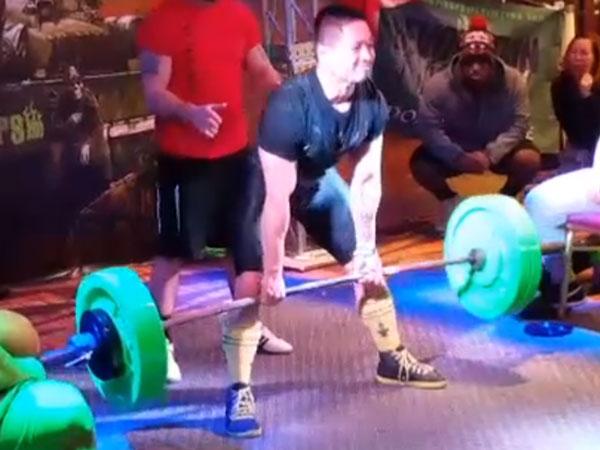 Joshua Teves Powerlifting
