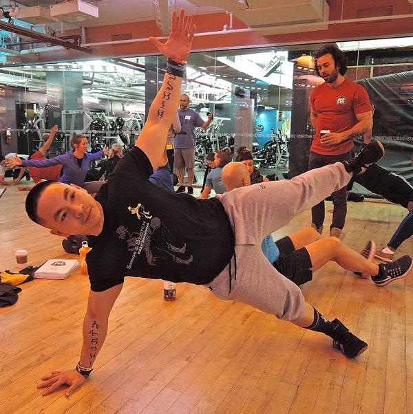Joshua Teves, PCC Side Plank