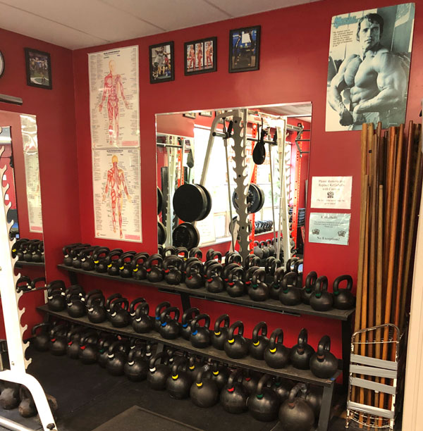 Kettlebells at American Eagle Martial Arts