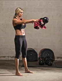 Kettlebell Towel Drill Beth Andrews