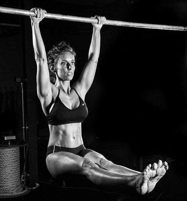 Kristy Agan Hanging Leg Raise