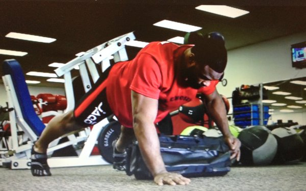 Ultimate Sandbag Lateral Drags Tyrone Woodly